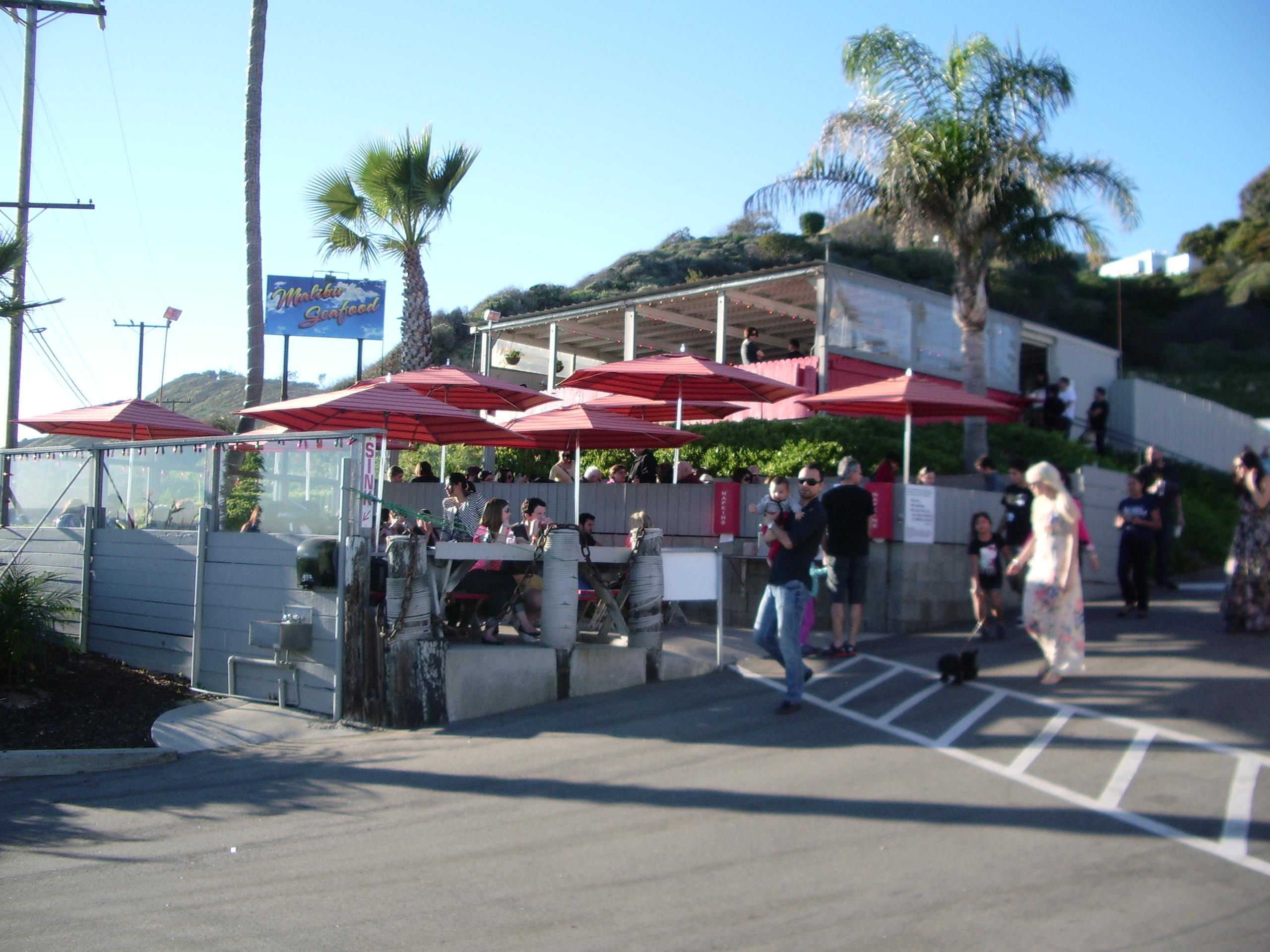 Food With A View: The Malibu Seafood Patio Café