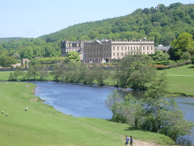 Chatsworth House and park_1
